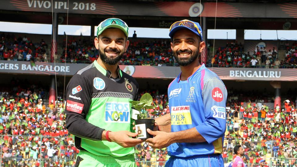 Royal Challengers Bangalore captain Virat Kohli won the toss and opted to field.  (BCCI )