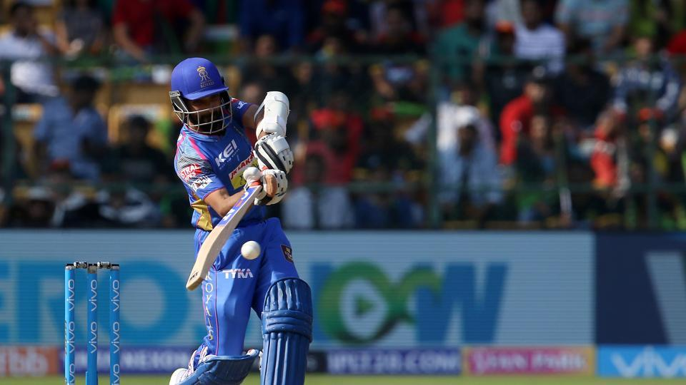 Rajasthan Royals began their innings with a flurry of boundaries hit by skipper Ajinkya Rahane (36 off 20).  (BCCI )