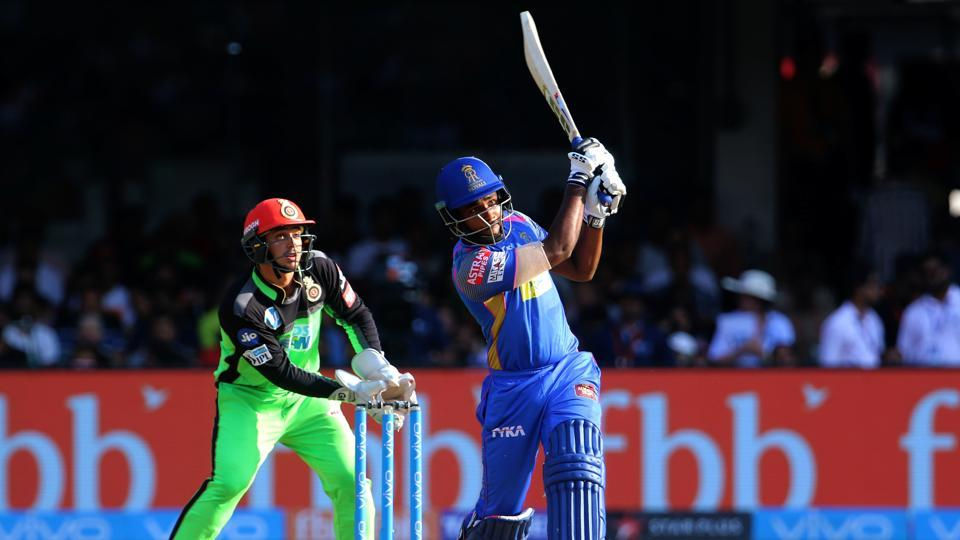 Samson remained unbeaten on 92 as RR posted 217/4 in their 20 overs.  (BCCI )