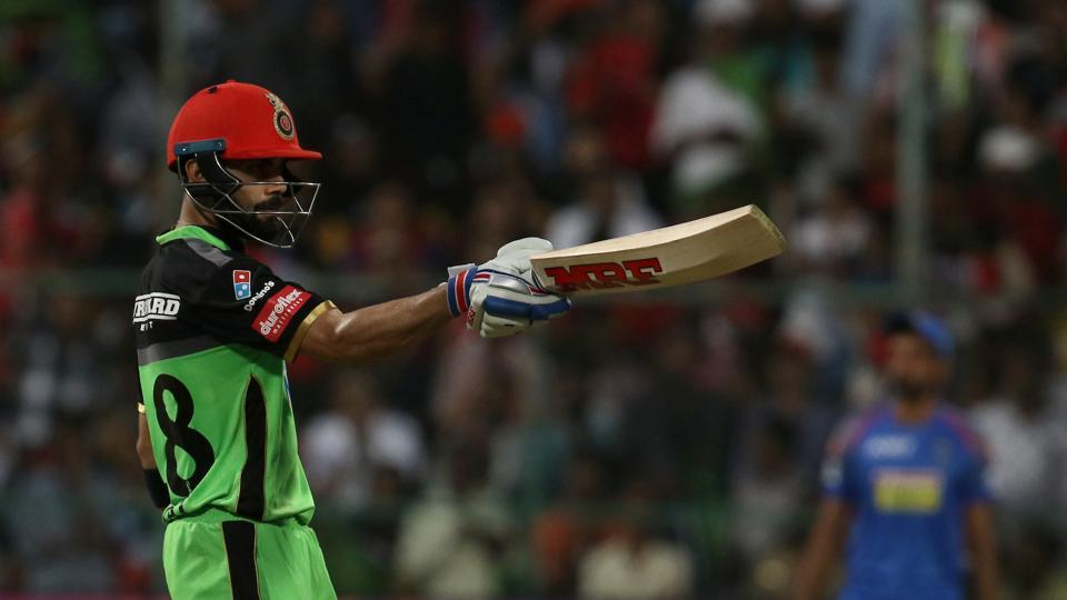 Kohli reached his fifty off 26 balls, his fastest in IPL.  (BCCI )