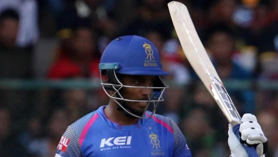 Sanju Samson's unbeaten 45-ball 92 helped Rajasthan Royals beat Royal Challengers Bangalore by 19 runs for their second win in IPL 2018. (BCCI )