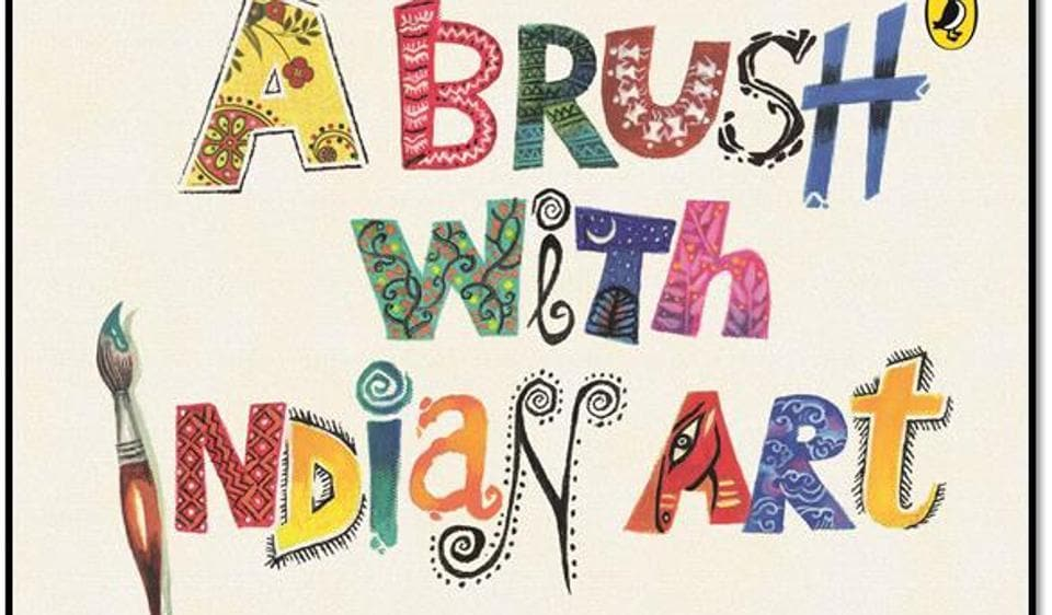 Book Review,A Brush with Indian Art,Mamta Nainy
