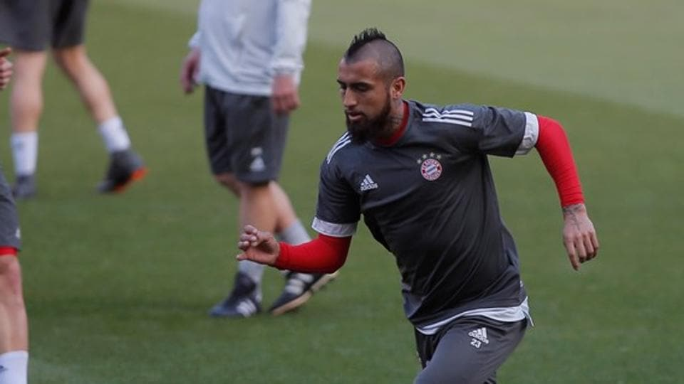 Arturo Vidal is a doubt for both legs of Bayern Munich's Champions League semi-final against Real Madrid as he requires knee surgery.
