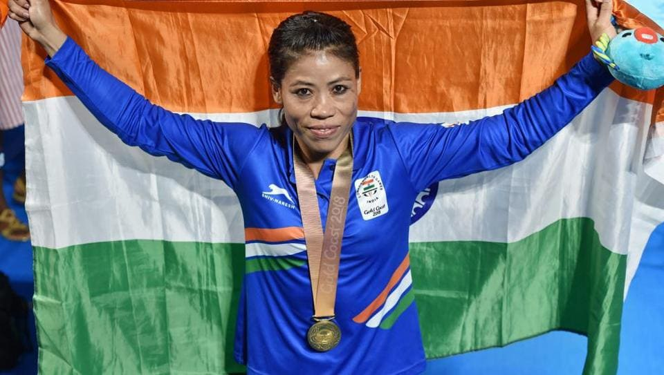 Indian boxing veteran Mary Kom won the women's 48 kg gold at the 2018 Commonwealth Games in Gold Coast.
