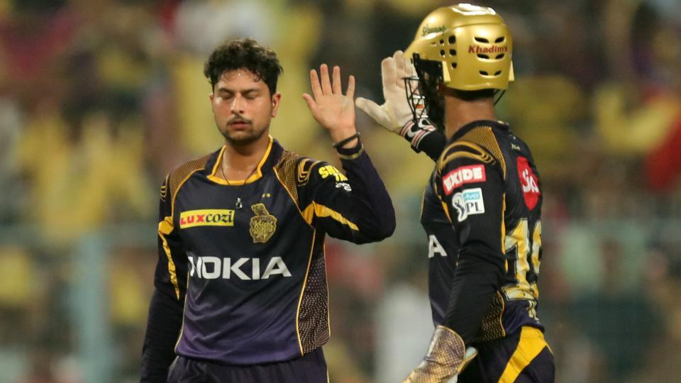 Kuldeep Yadav finished things off by removing Trent Boult to seal a 71-run win for KKR. Like Narine, he also finished with three wickets.