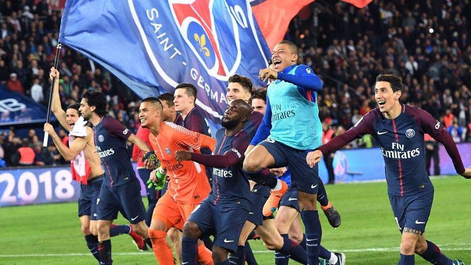 Paris Saint-Germain thrash AS Monaco to clinch Ligue 1 title