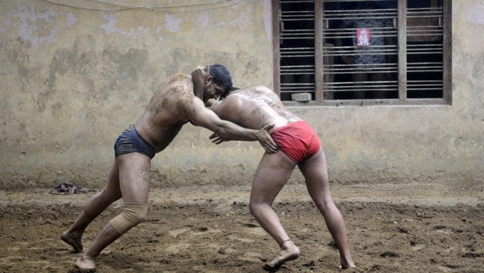 Sukhbir Pahalwan,Safrabad village,Sarfabad wrestlers