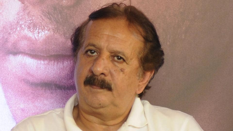 Iranian film director Majid Majidi during a press conference for his upcoming film 'Beyond The Clouds' at Hyatt hotel in Kolkata.