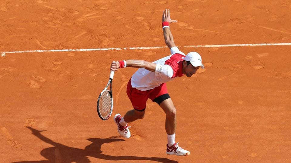 Monte Carlo Masters,Novak Djokovic,Dusan Lajovic
