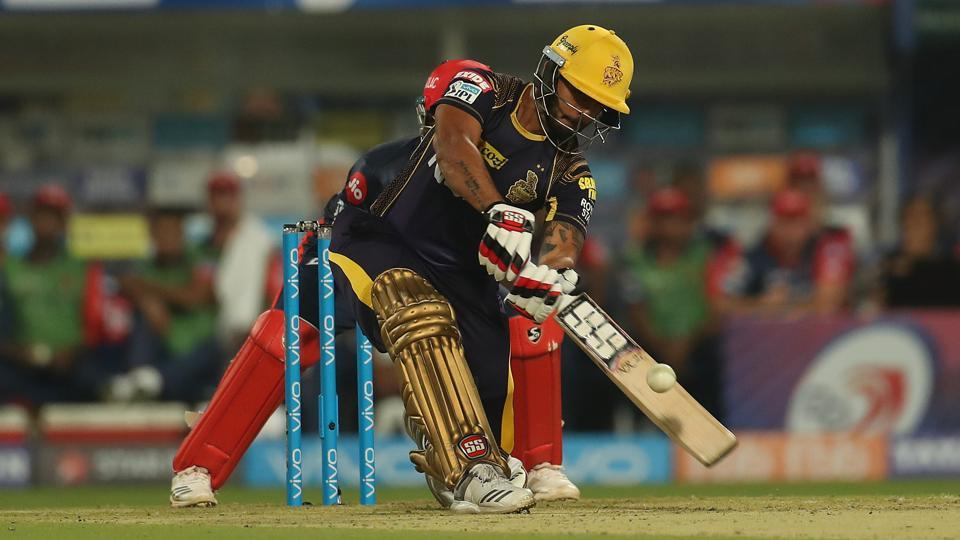 Nitish Rana then anchored the KKR innings and scored a crucial 59 to help them move towards a big total.