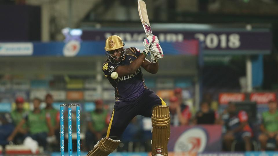 Andre Russell's 12-ball 41 also played a key part in KKR inching closer towards 200 with a few overs to go.