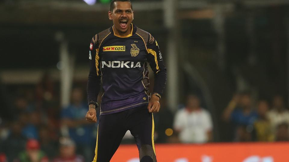 However, Sunil Narine and Kuldeep Yadav combined to peg back DD. Narine picked three wickets.