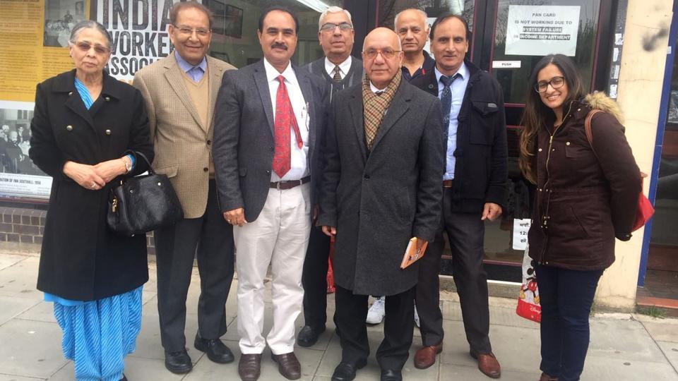 Labour Party MP Virendra Sharma (centre), who represents Ealing Southall, echoed the demand of local community.