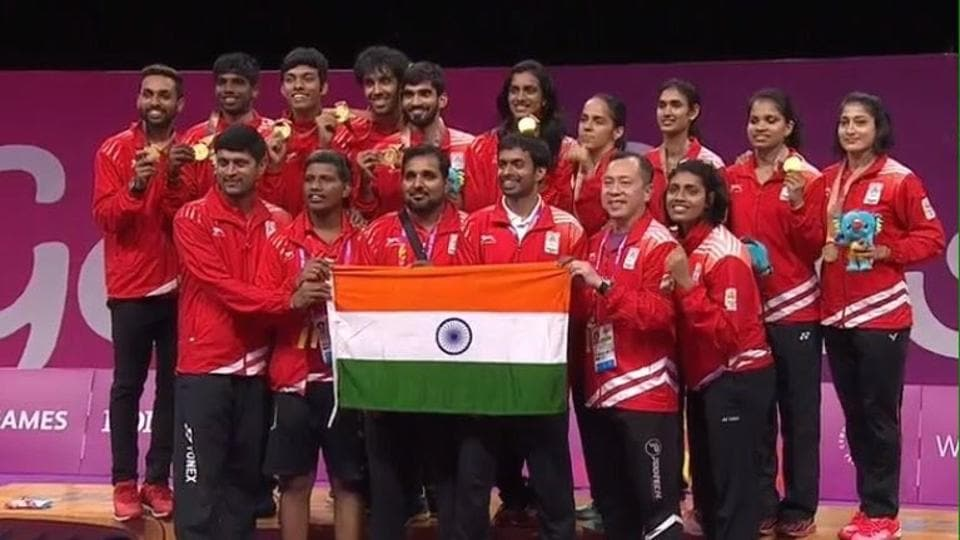 The Indian badminton squad secured the team gold for the first time in the history of the Commonwealth Games during the 2018 edition in Gold Coast.