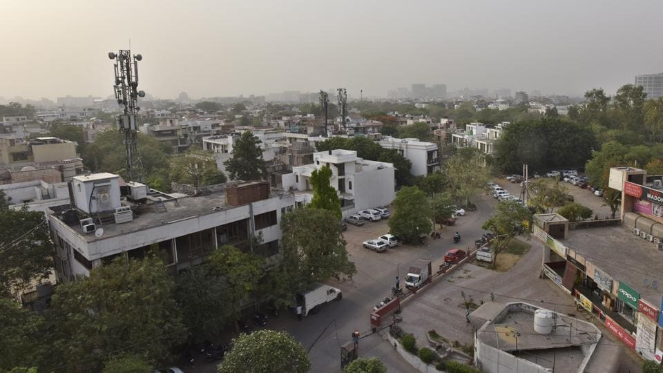 Municipal Corporation of Gurugram,Town and Country planning,Colony transfer