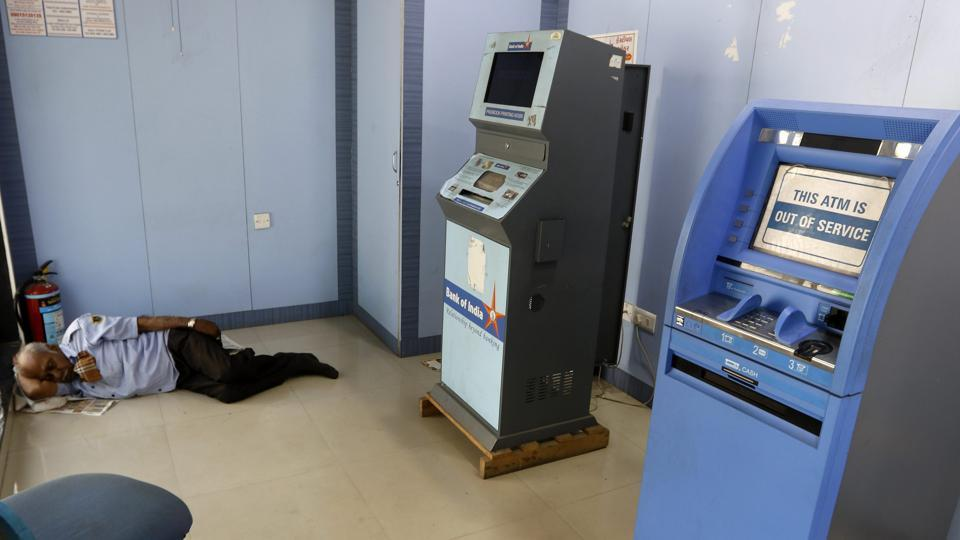 ATM cash crunch,ATMs run dry,ATMs