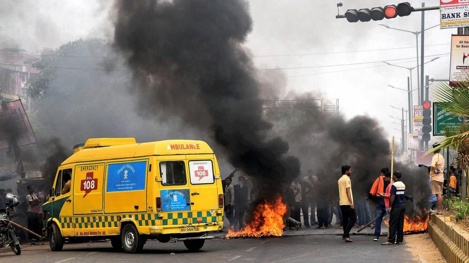 Bihar witnessed violence during the Bharat Bandh called on April 2 by Dalit organisations over the reservation issue and another on April 10 by anti-reservation groups.