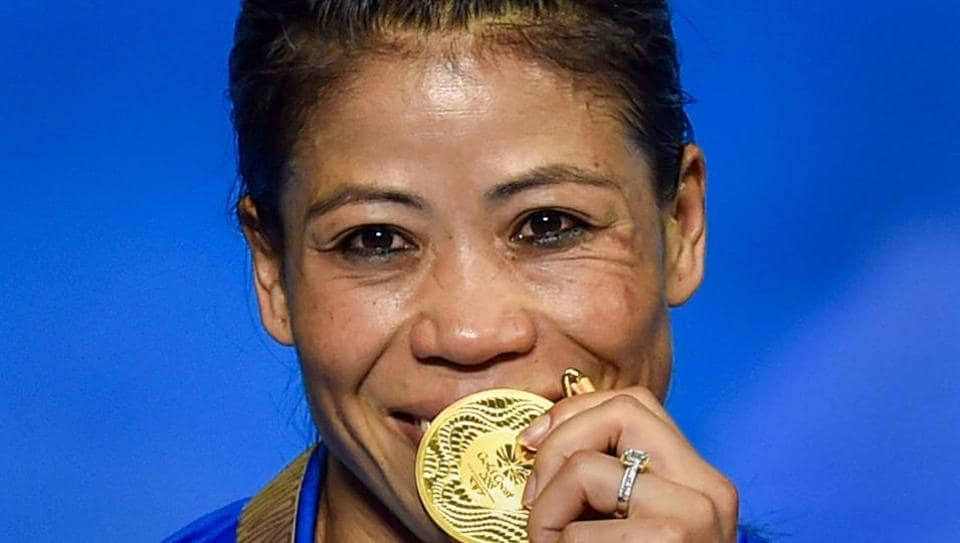Mary Kom won the gold medal in women's 48kg boxing at the 2018 Commonwealth Games in Gold Coast last week.