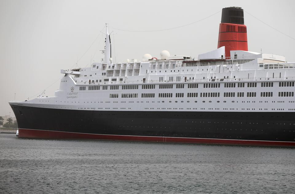 Queen Elizabeth 2,Dubai,floating hotel