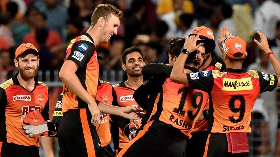 IPL 2018,Indian Premier League,Sunrisers Hyderabad