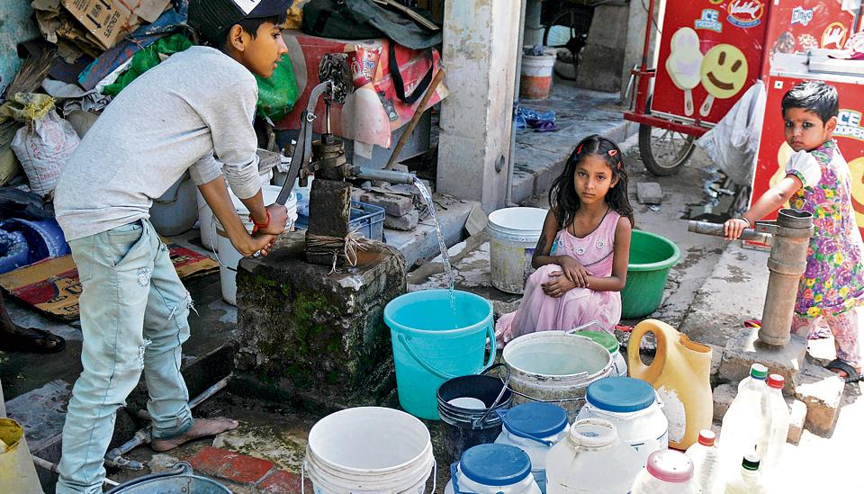 High and dry,dry summer,water woes