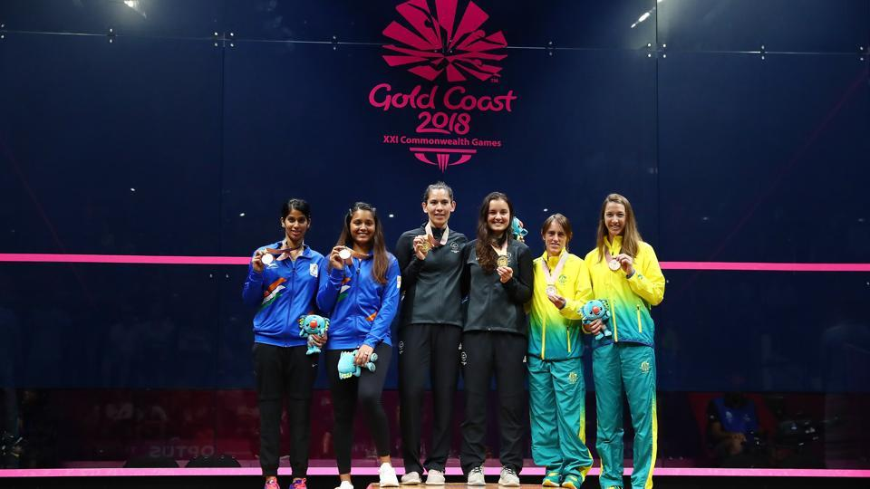 Dipika Pallikal and Joshna Chinappa won silver in women's doubles squash at the 2018 Commonwealth Games.