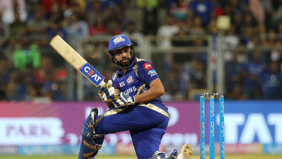Rohit Sharma fell for 94 but Mumbai Indians notched up 213/6 after 20 overs.  (BCCI)