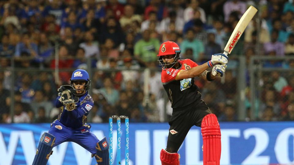 Virat Kohli and Quinton de Kock gave Royal Challengers Bangalore a fast start in their chase of 214. (BCCI)