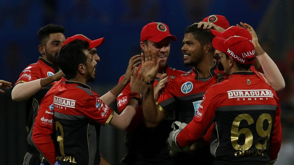 Umesh Yadav gave Royal Challengers Bangalore a great start by taking two wickets in two balls in his first over of the match. (BCCI)
