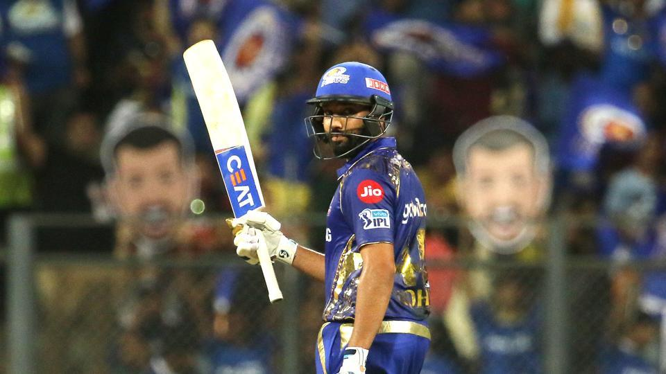 Rohit Sharma led from the front with a magnificent 94 as Mumbai Indians secured their first win in IPL 2018 with a 46-run win over Royal Challengers Bangalore.  (BCCI)