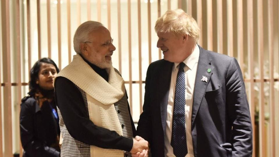 Image result for India british PM MEET 2018