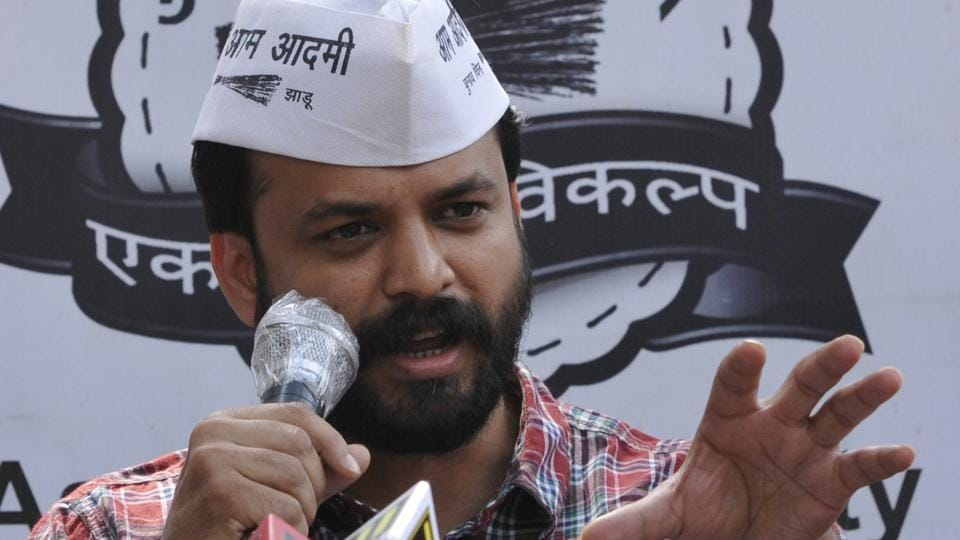 AAP leader Ashish Khetan has resigned as vice chairman of the Delhi Dialogue and Development Commission.
