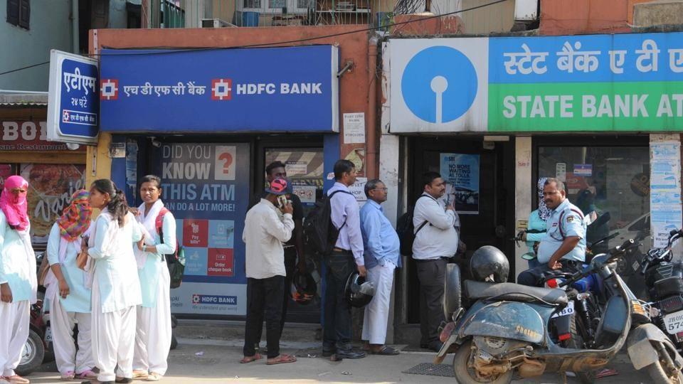 Cash crunch,ATMs,demonetisation