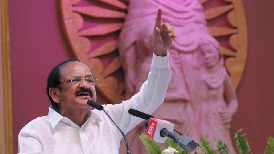 Don't link rapes with politics, says vice-prez Venkaiah Naidu