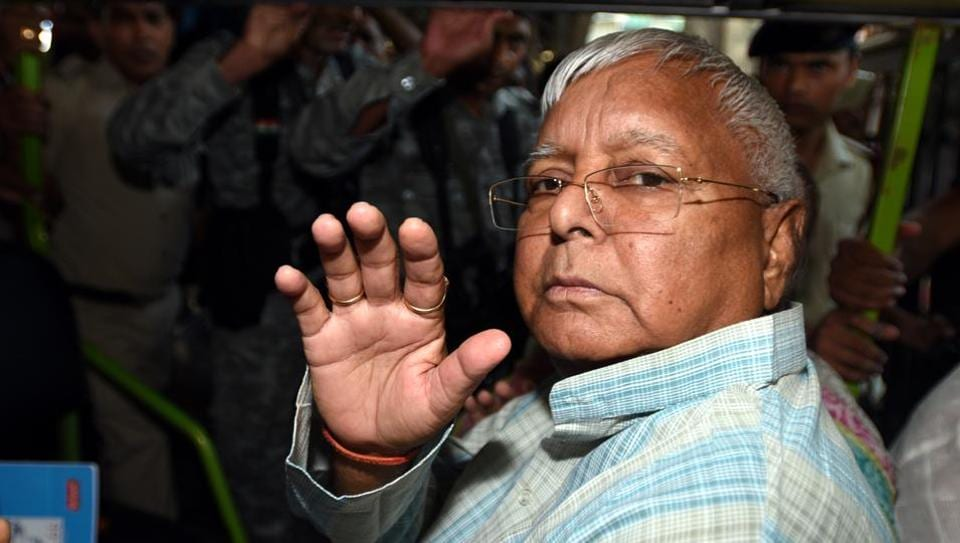 Former Bihar chief minister Lalu Prasad Yadav has been convicted in four fodder scam cases.