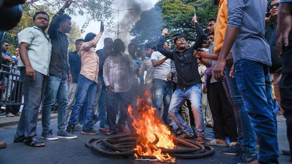 The raids were against prominent activists and lawyers in connection with their alleged links to the violence which occurred at Bhima Koregaon on January 1.