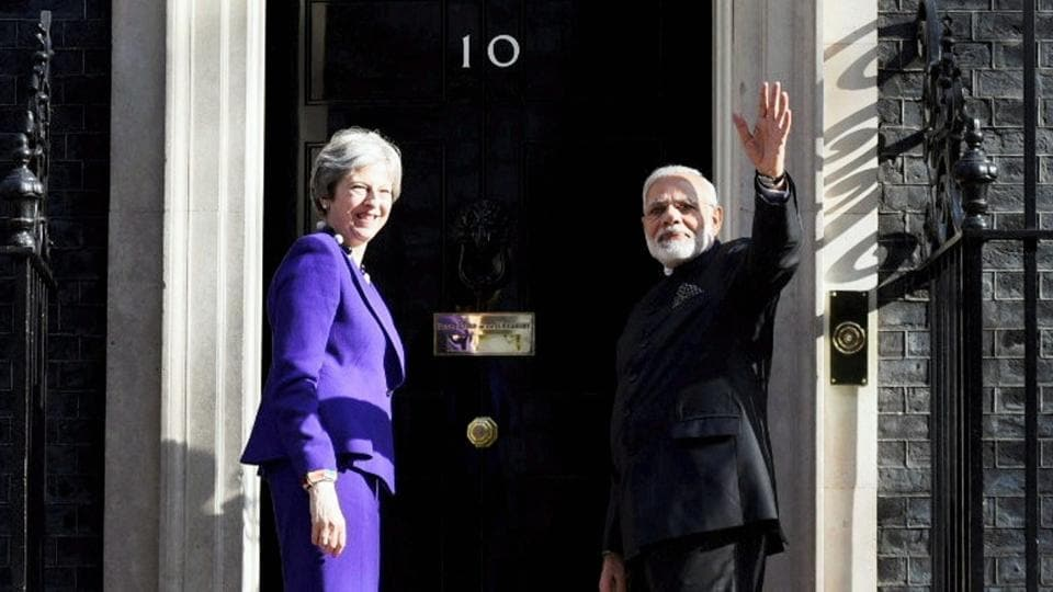 Modi in UK,Narendra Modi in London,Modi in London