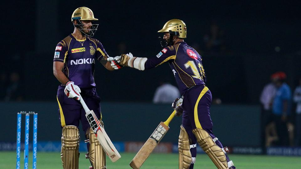 Dinesh Karthik and Nitish Rana's solid partnership, combined with Robin Uthappa's aggressive knock gave Kolkata Knight Riders an easy seven-wicket win over Rajasthan Royals.