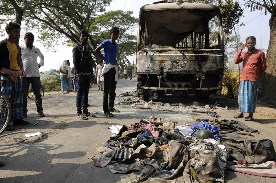 Bhangar clashes,Bengal,Trinamool Congress