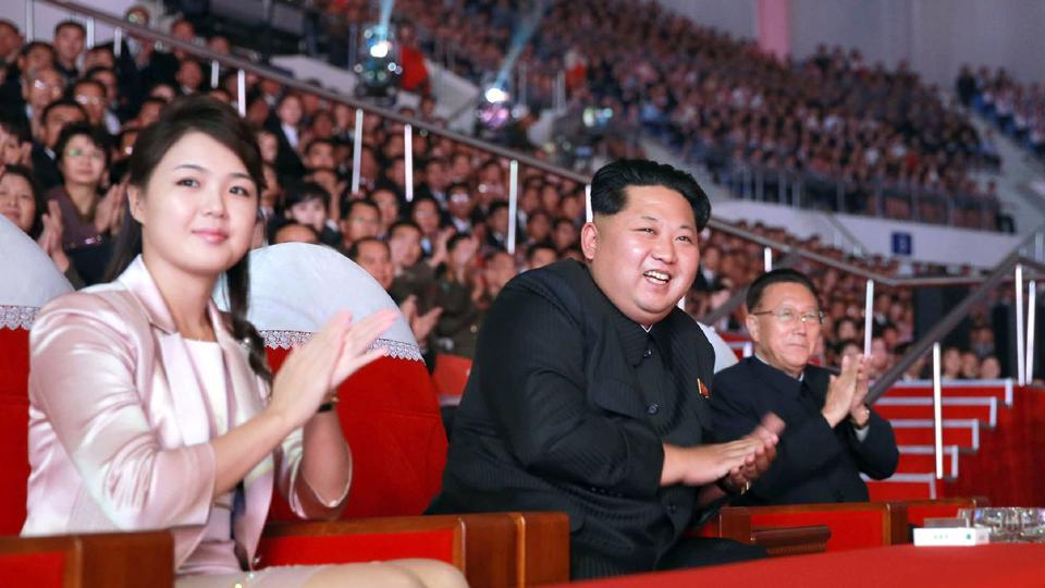 Ri Sol Ju (left), a former star singer, has been regarded as one of the most high-profile women in North Korea, but with a limited role as Kim Jong Un's stylish, coy wife.