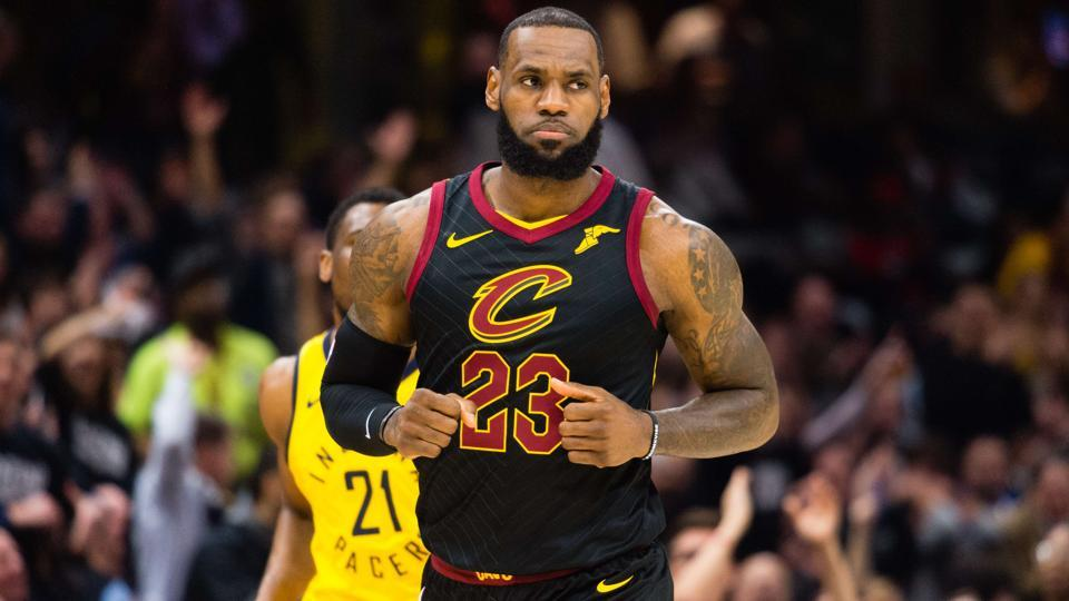 LeBron James scores 46 as Cleveland Cavaliers beat Indiana