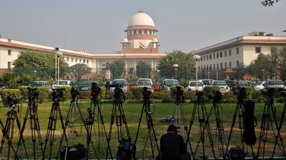 The website of the Supreme Court of India was inaccessible on Thursday afternoon after it was reportedly hacked 30 minutes after the court delivered the verdict in the BH Loya case. (Anindito Mukherjee / REUTERS File)