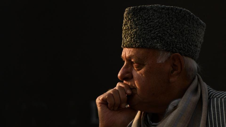 Former chief minister of Jammu & Kashmir and National Conference (NC) president Farooq Abdullah, commenting on the Kathua rape case on Wednesday, said his party would bring a law to award capital punishment in Kathua like cases, if it comes back to power in the state. (Raj K Raj / HT File)