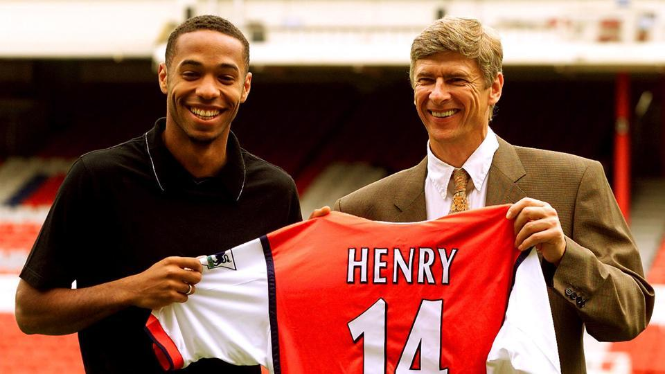 Arsene Wenger signed several important players for Arsenal including Thierry Henry (in pic), Robin van Persie, Sol Campbell among others. (REUTERS)
