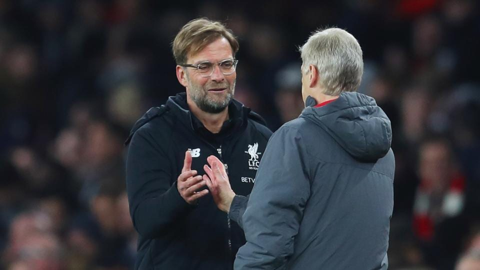 Liverpool FC manager  Jurgen Klopp says Arsene Wenger is seen as role model in Germany.