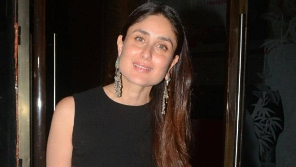 Kareena Kapoor Khan's look was basically the solution for a little black dress sort of day in the middle of summer. (IANS)