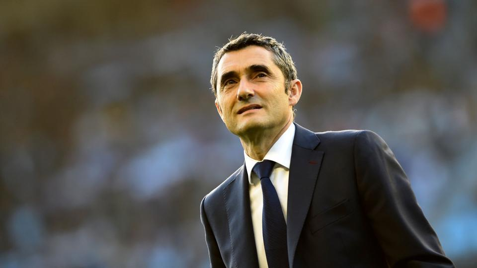 Barcelona coach Ernesto Valverde will looking to get better of Sevilla in the Copa del Rey final and do a league and cup double.