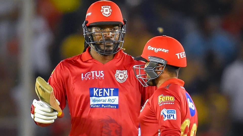 Chris Gayle guided Kings XIPunjab to victory over Sunrisers Hyderabad in their IPL2018 match on Thursday and skipper Ravichandran Ashwin was all praise for the West Indies batsman.