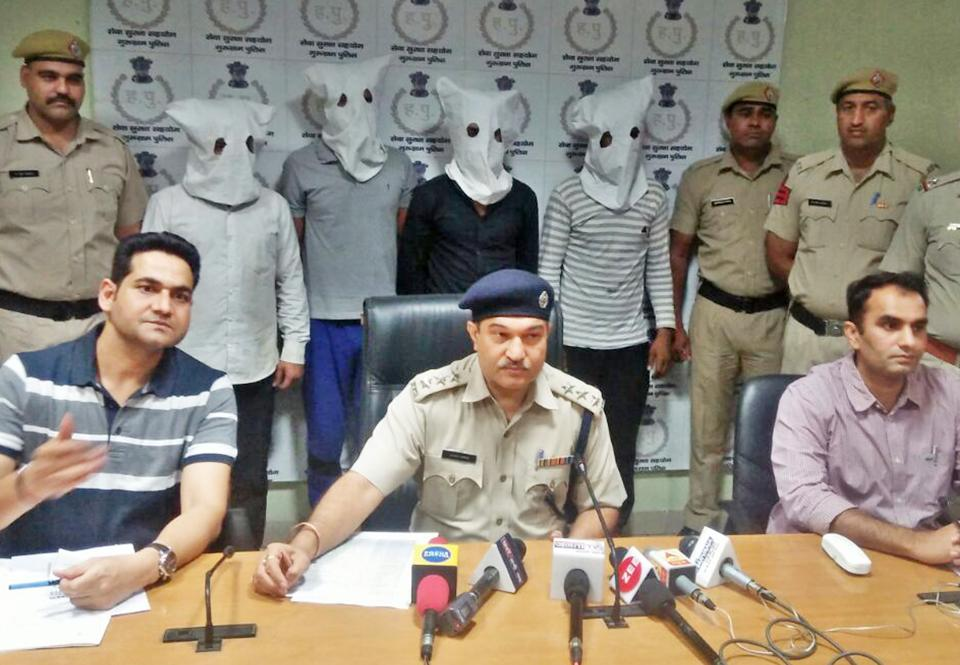 The accused were staying in Bapunagar area of Faridabad and used to work as daily wage labourers at different places, the police said.
