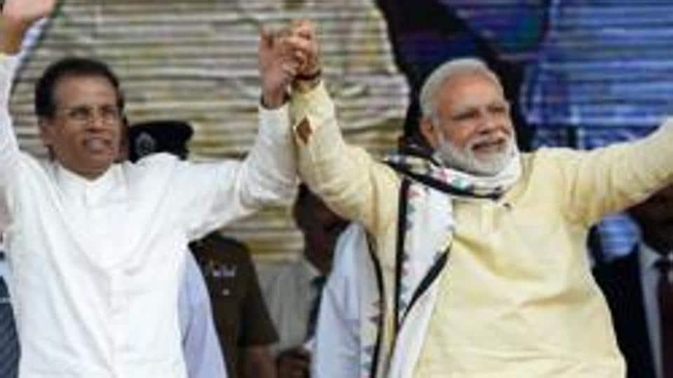 Narendra Modi,Maithripala Sirisena,BBC